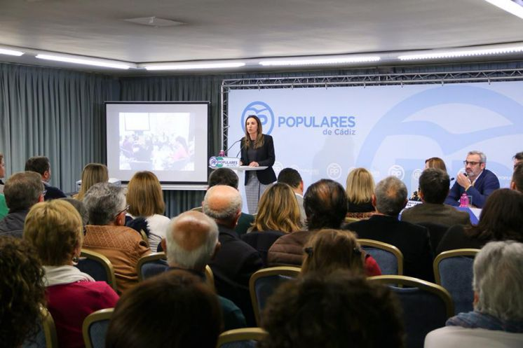 Isabel Jurado elegida presidenta del Partido Popular de Chipiona en el congreso local