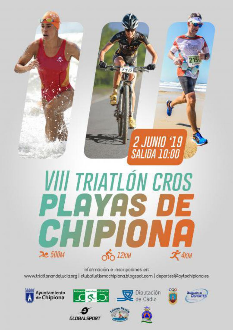 160 inscritos para el Triatlón Cros Playas de Chipiona que se disputa el domingo